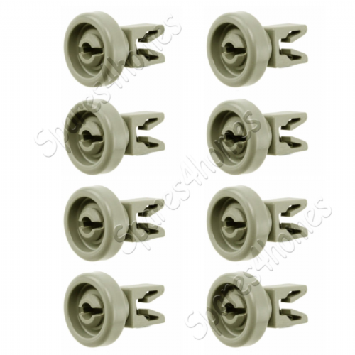 8X Light Grey  Top Upper Basket Tray Wheels